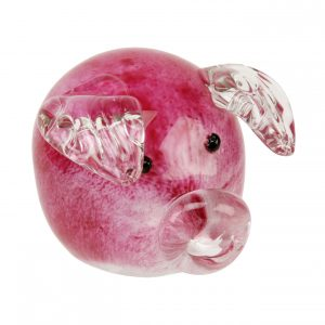 Objets d'Art Figurine - Pink Piggy