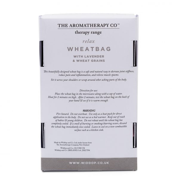 The Aromatherapy Company Everyday Wheatbag - Lavendar