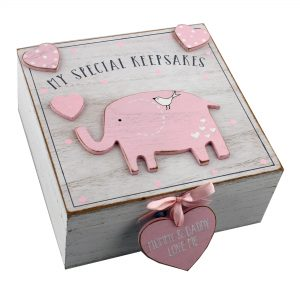 Petit Cheri My Special Keepsakes Box - Pink