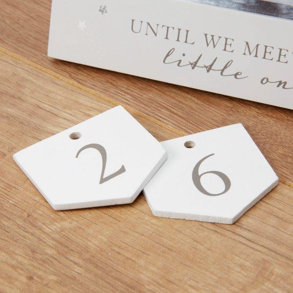 "4"" x 3"" - Bambino Arrival Countdown Frame"