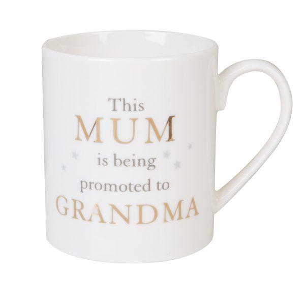 Bambino Porcelain Mug - Mum Promoted to Grandma