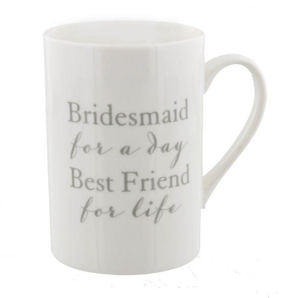 AMORE BY JULIANA Porcelain Bridesmaid Thank You Mug