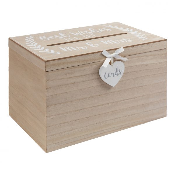 Love Story Best Wishes For The Mr & Mrs Card Box
