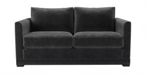 Aissa 2 Seat Sofa in Armour Smart Velvet