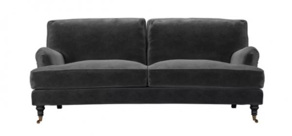 Bluebell 2 Seat Sofa in Armour Smart Velvet