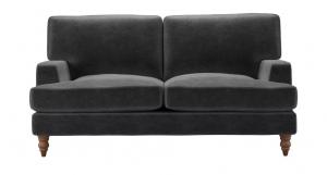 Isla 2 Seat Sofa in Armour Smart Velvet