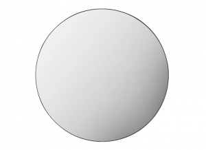 Austen Round Wall Mirror with Black Frame