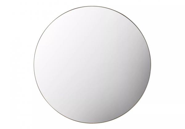 Austen Round Wall Mirror with Gold Frame
