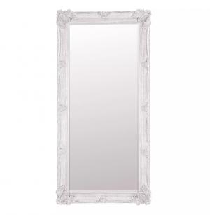 Elliot Floor Mirror with Cream Frame