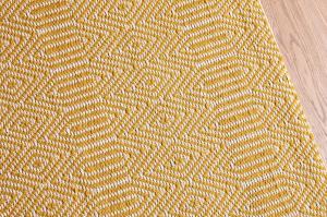 Bengal Large Rug in Mustard