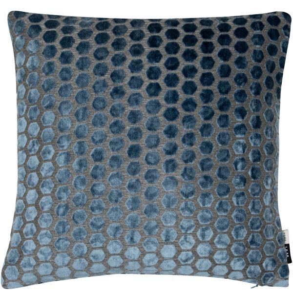 Malini Large Jorvik Blue Cushion