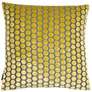 Malini Large Jorvik Mustard Cushion
