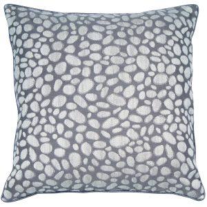 Malini Large Pebbles Grey Cushion