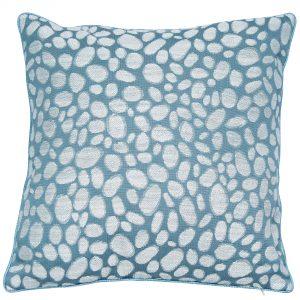 Malini Pebbles Seafoam Cushion