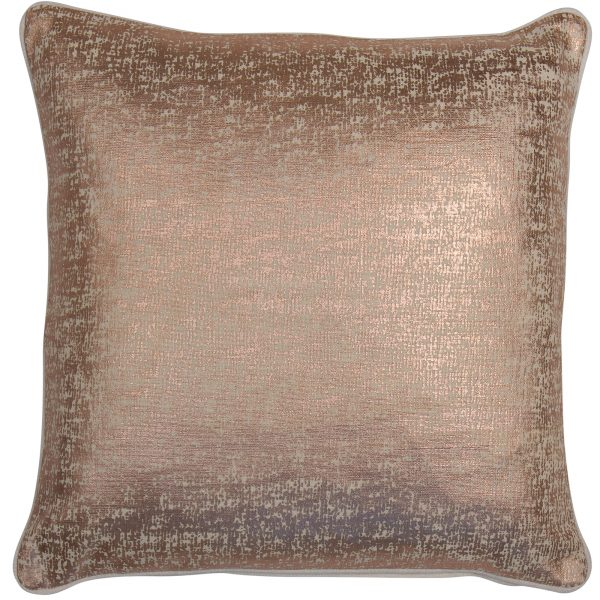 Malini Shimmer Rosegold Cushion